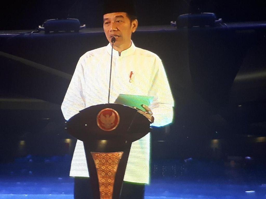 Jokowi Maknai Pemikiran Gus Dur: Politik Harus Kedepankan Tata Krama