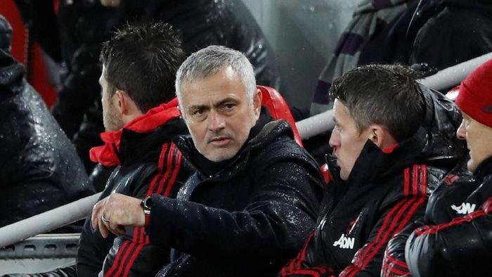 Jose Mourinho sebut Liverpool cuma mendominasi selama 20 menit (Carl Recine/Reuters)