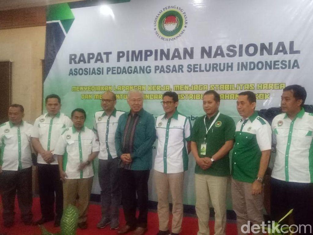 Sandiaga Mundur dari Ketum Asosiasi Pedagang Pasar Seluruh Indonesia