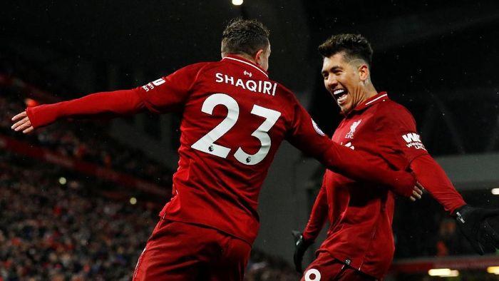 Liverpool kembali ke puncak klasemen Liga Inggris usai kalahkan Manchester City (Phil Noble/Reuters)