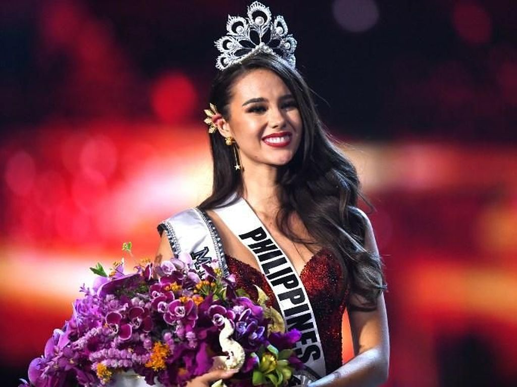 Catriona Gray dari Filipina, Juara Miss Universe 2018