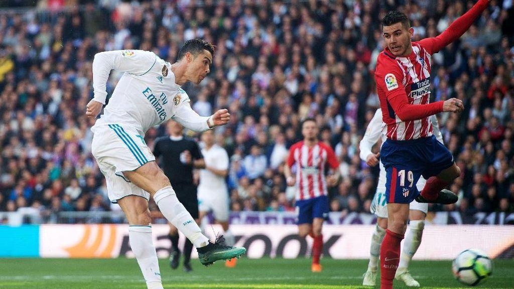 Atletico Bertemu Mimpi Buruk Bernama Cristiano Ronaldo