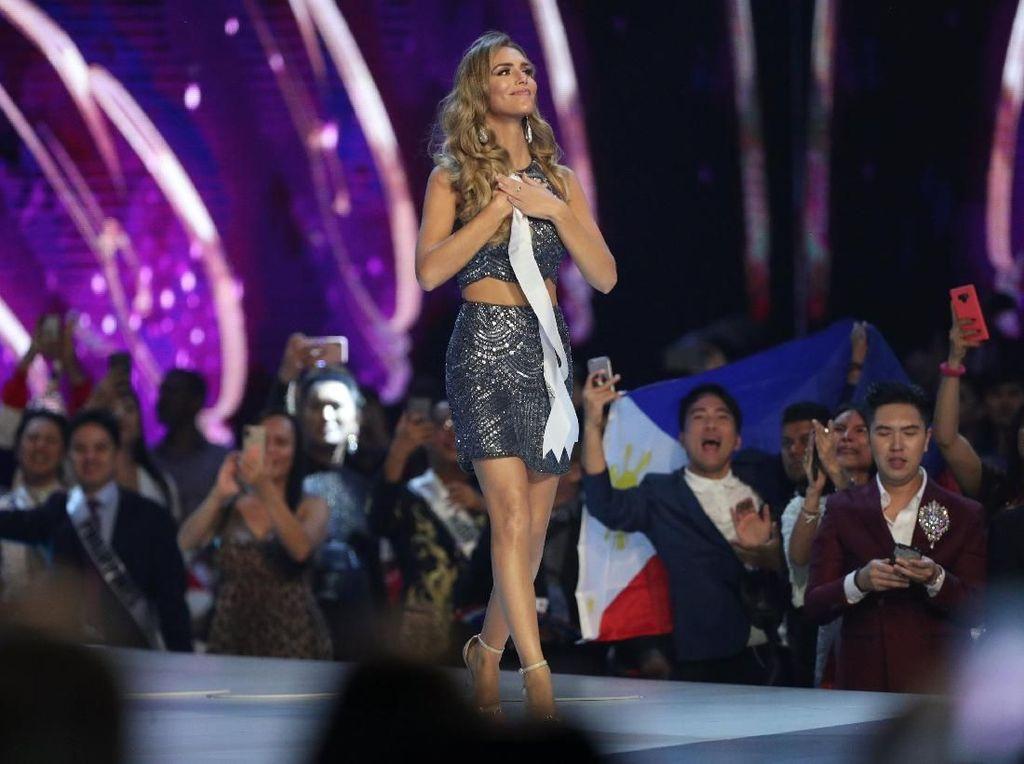 Foto: Penampilan Transgender Pertama di Miss Universe 2018 Saat Berlaga