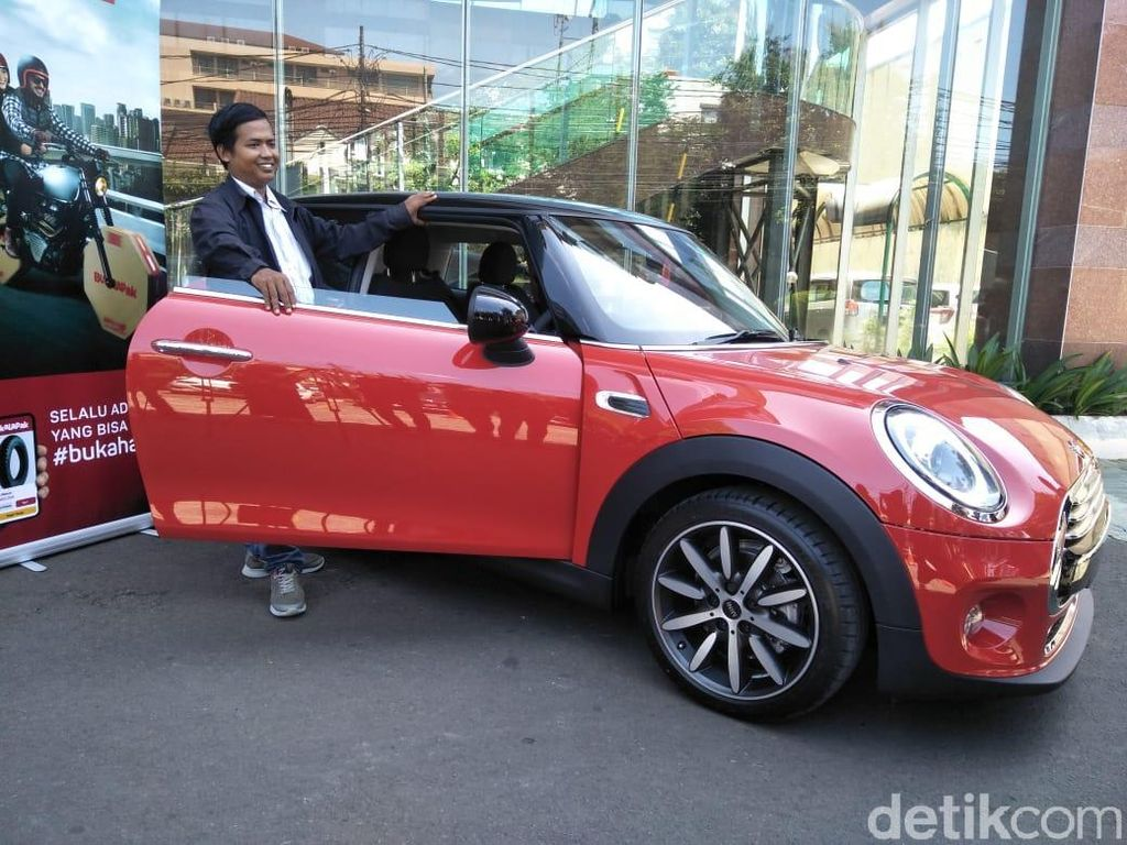Driver Ojol Dapat Mini Cooper Rp 12.000