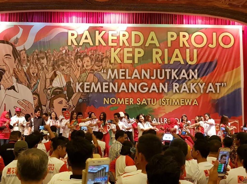 Timses Jokowi Minta Projo Kepri Militan dan Kampanye Door to Door