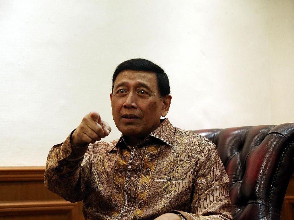 Kata Wiranto soal Penyebar Hoax Bisa Dijerat UU Terorisme