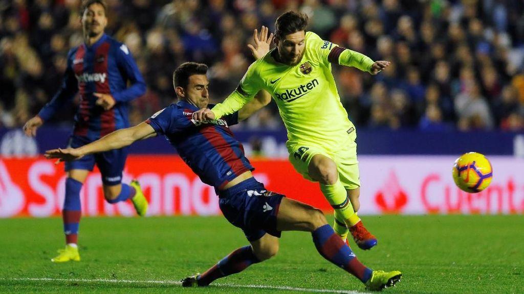 Video: Messi Menggila, Barca Menang Sempurna