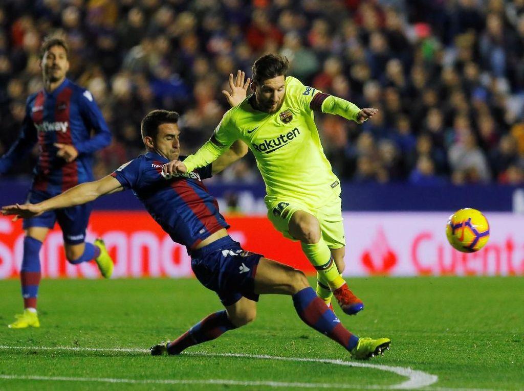 Urusan Hat-trick, Messi Masih Kalah dari Ronaldo