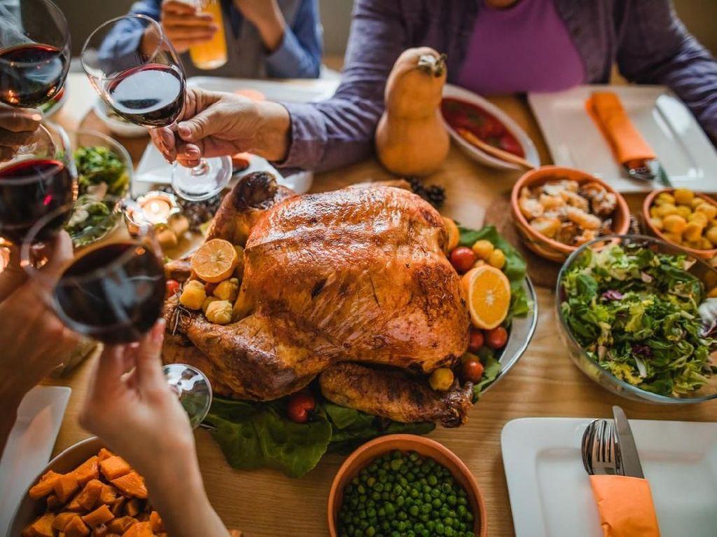 Ini Sebabnya Kalkun Jadi Sajian Spesial Perayaan Thanksgiving