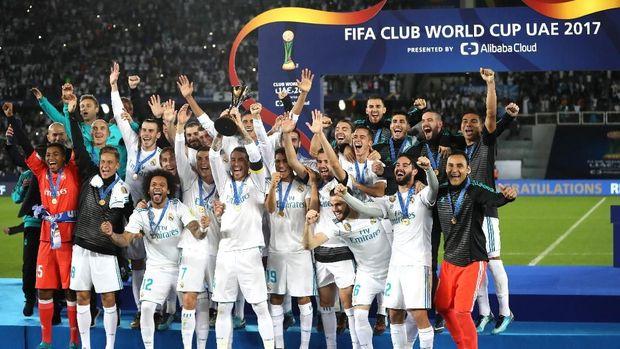 Real Madrid tiga kali jadi juara Piala Dunia Antarklub