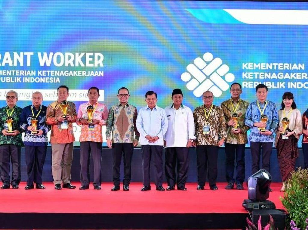 detikcom Raih Indonesian Migrant Worker Award 2018