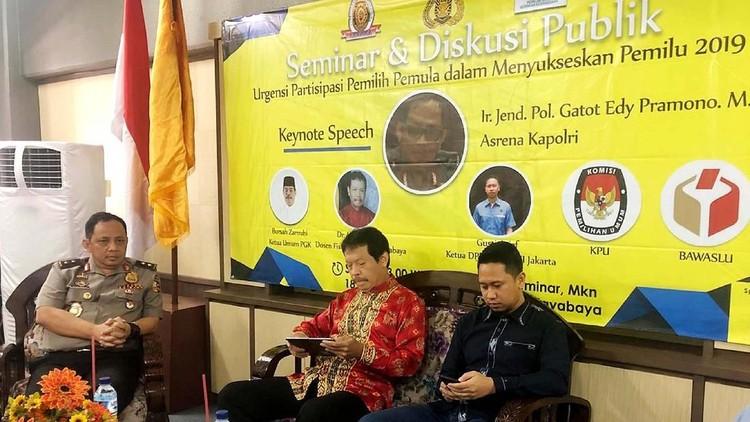 Seminar Pemilih Pemula Pilpres 2019