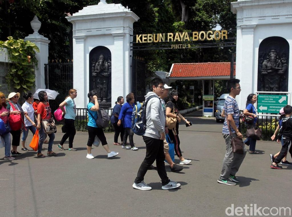 LIPI Tutup Kebun Raya Bogor akibat Wabah Virus Corona