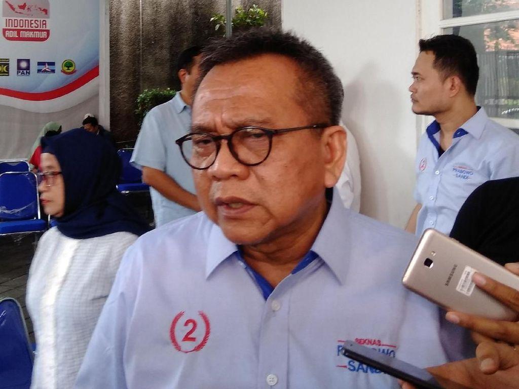 M Taufik Belum Pastikan Kapan Nama 2 Cawagub DKI Diserahkan ke Anies