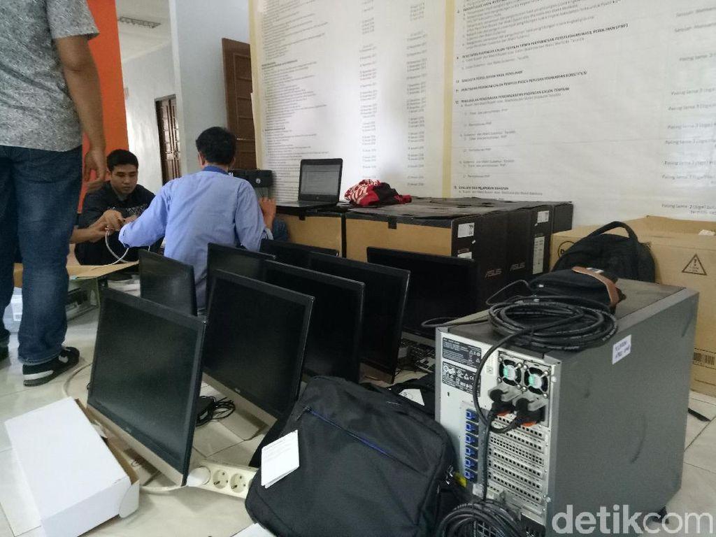 KPU RI Belum Dapat Laporan soal Penarikan Komputer di KPU Makassar