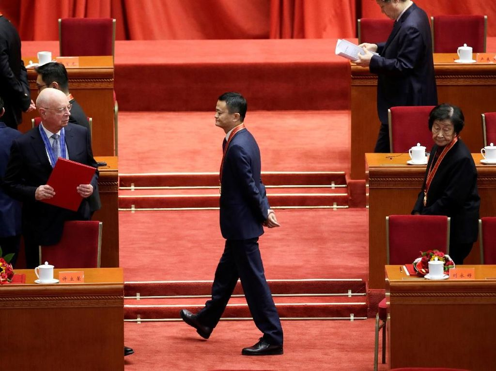 Sebentar Lagi Jack Ma Undur Diri