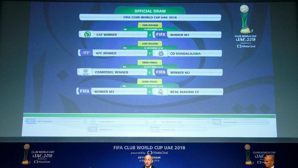 Jadwal Piala Dunia Antarklub 2018