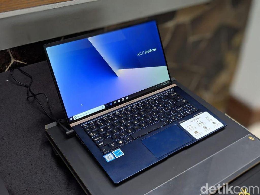 Penampakan Laptop Tipis Asus yang Stylish nan Mumpuni