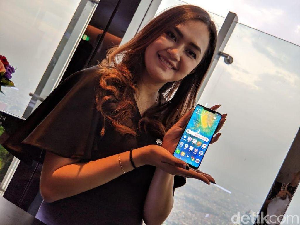 Rilis di Indonesia, Ini Spek dan Harga Huawei Mate 20 Pro