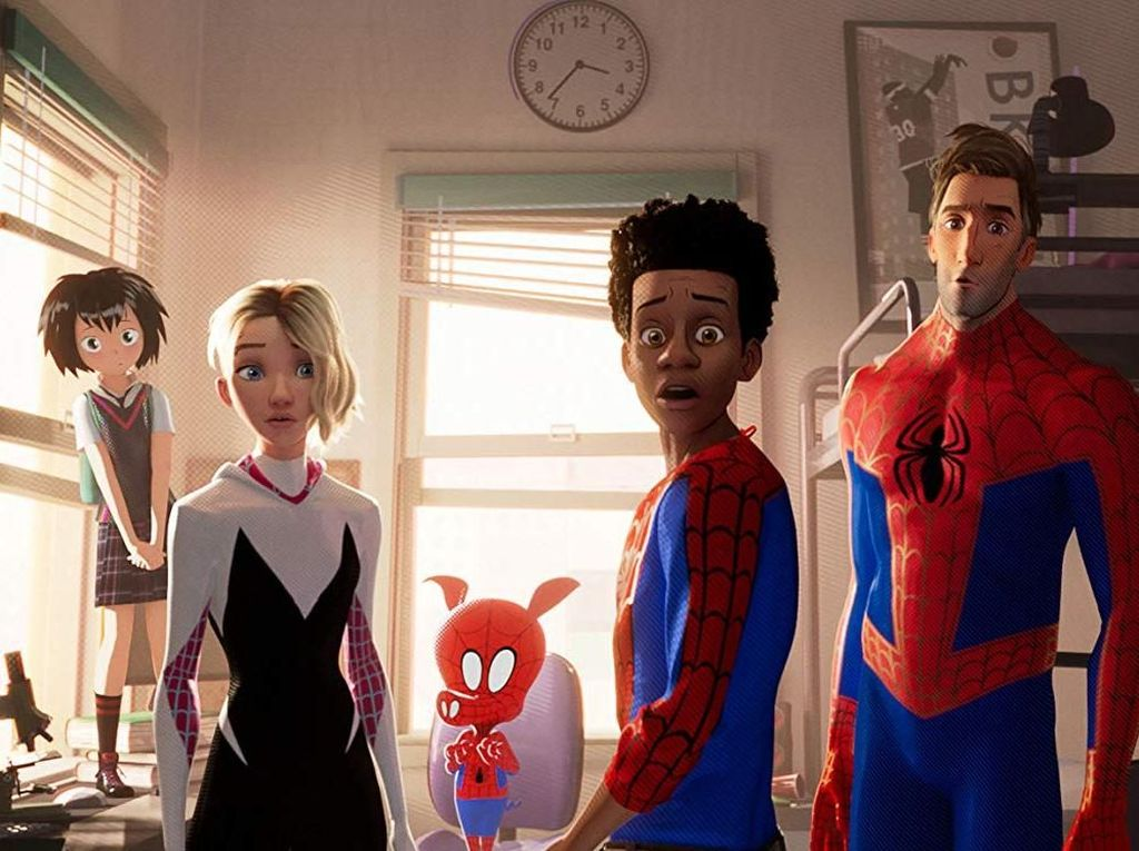 Spider-People Ini Tak Masuk Spider Man: Into the Spider-Verse
