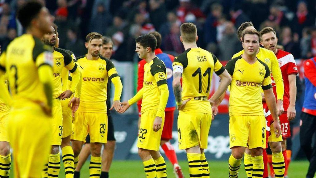 Hasil Liga Jerman: Fortuna Dusseldorf Beri Dortmund Kekalahan