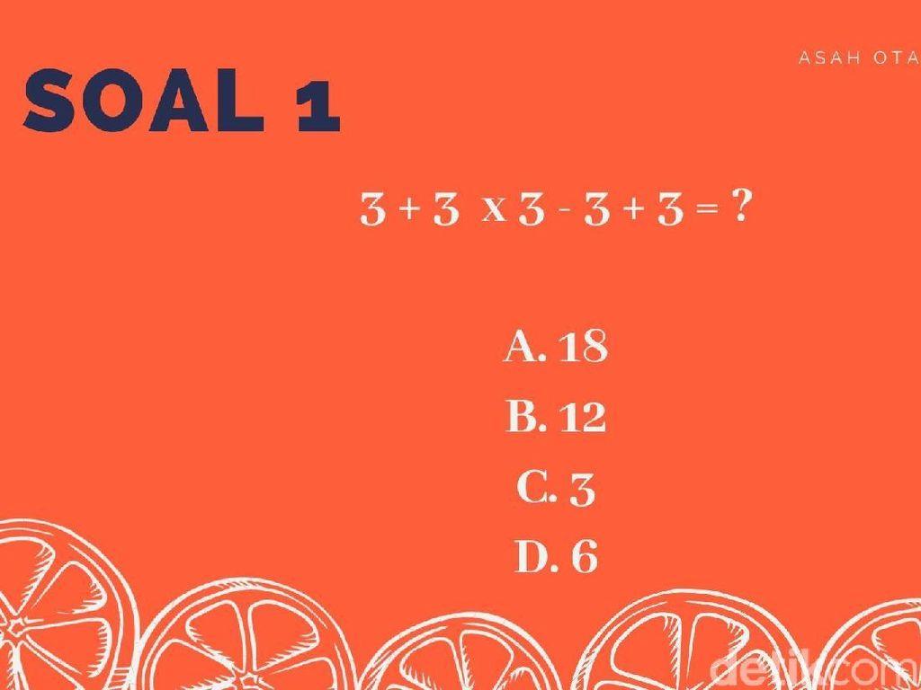 Siapa Jago Matematika? Ayo Putar Otak untuk Jawab Soal-soal Ini!