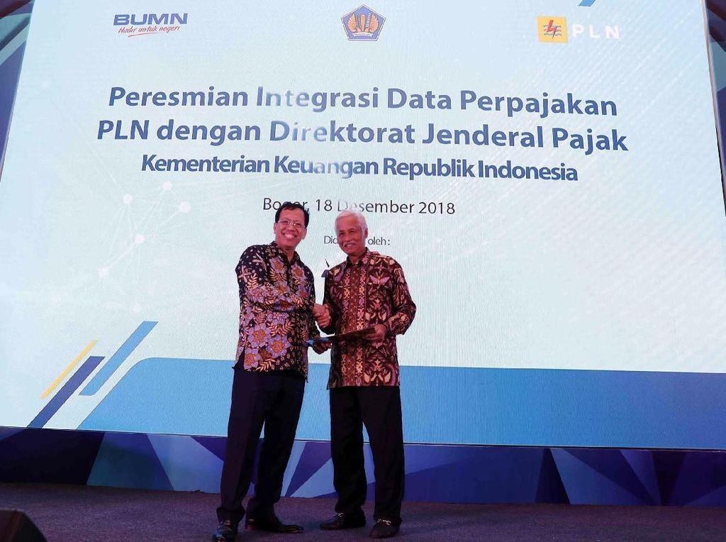PLN Resmikan Integrasi Data Perpajakan dengan Dirjen Pajak