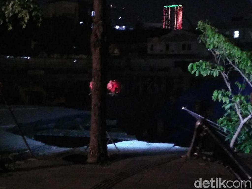 Kesaksian Karyawan Bank Saat Tanah Jalan Gubeng Ambles