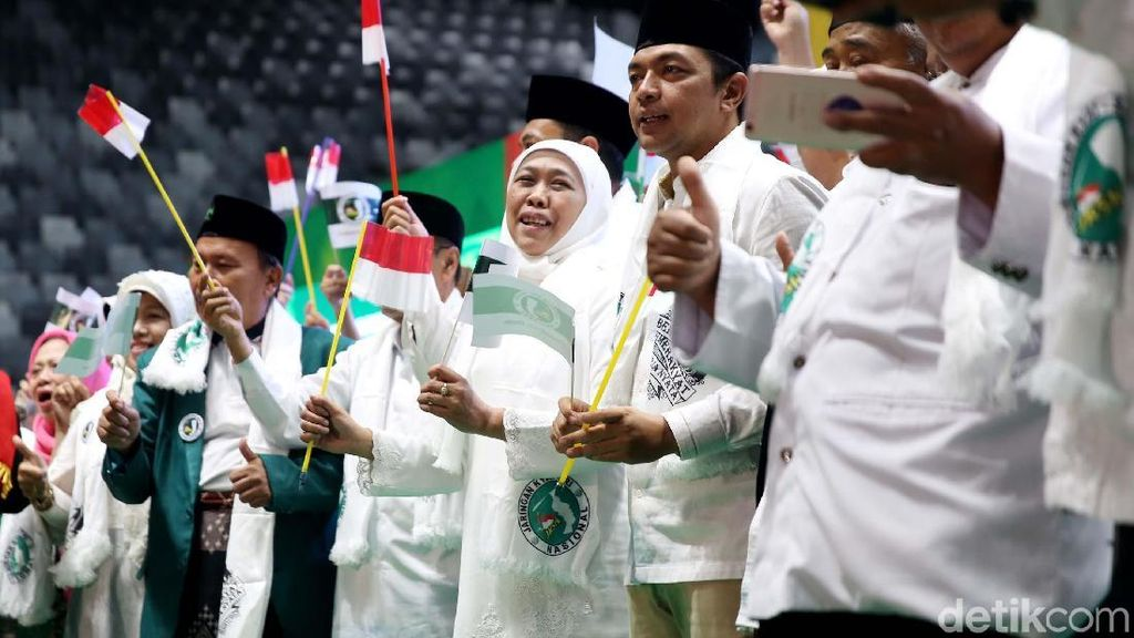 Giliran Khofifah Turun Gunung Dukung Jokowi-Maruf