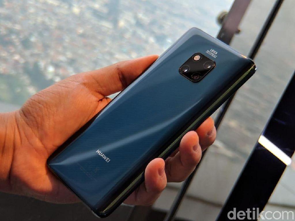 Huawei Mate 20 Pro: Ponsel yang Brilian