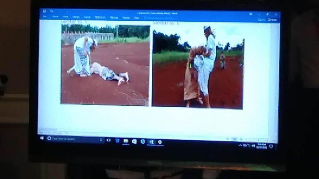 Bukti Foto Habib Bahar Aniaya Dua Anak