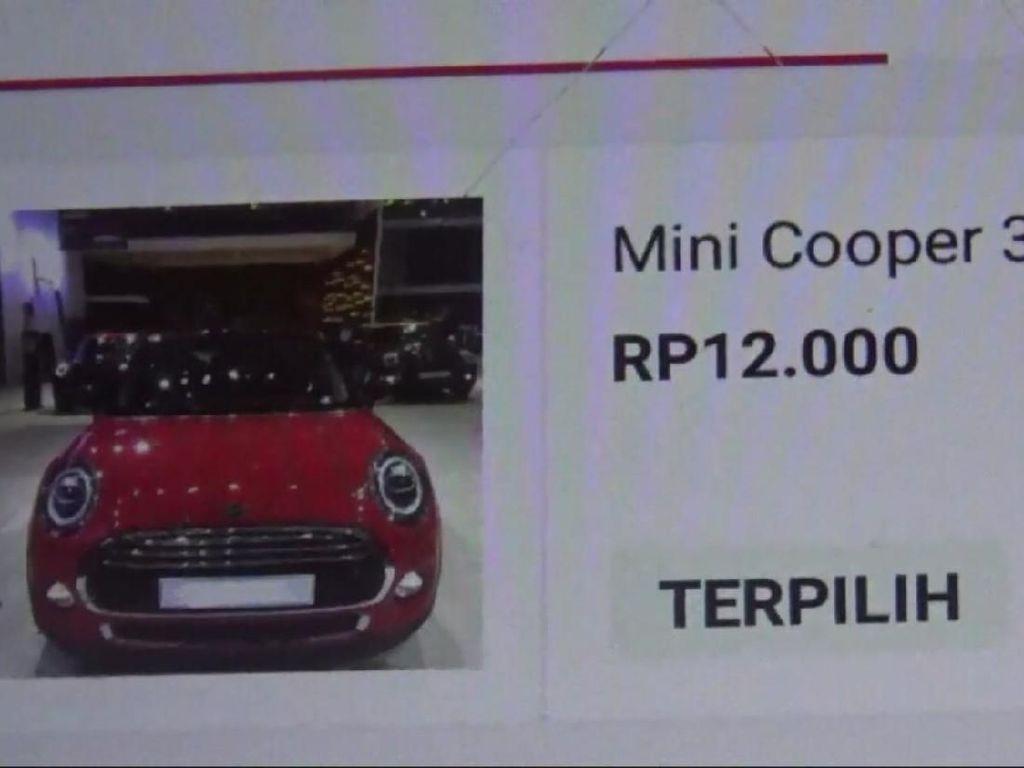 Dedi dan Keluarga Belum Butuh MINI Cooper Seharga Rp 12 Ribu