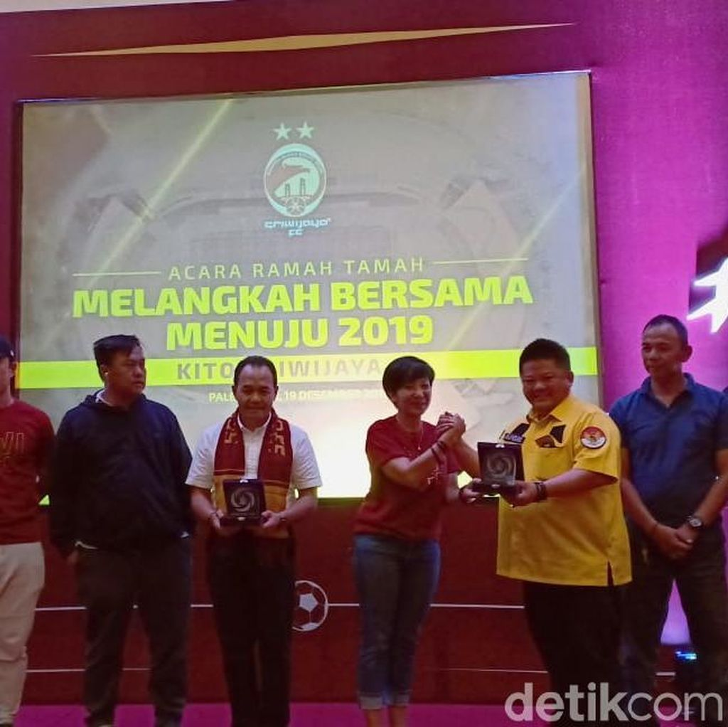 Satukan Suporter, Sriwijaya FC Luncurkan Aplikasi Klub