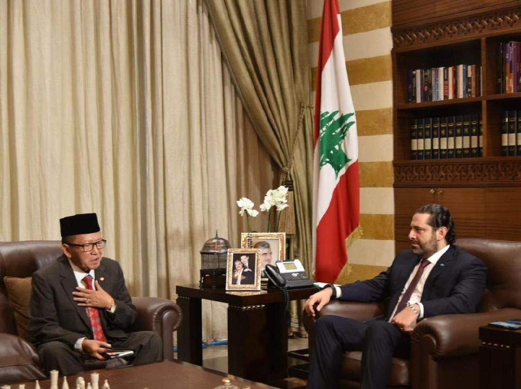 Dubes Achmad Chozin: Indonesia Tak akan Lupa pada Lebanon