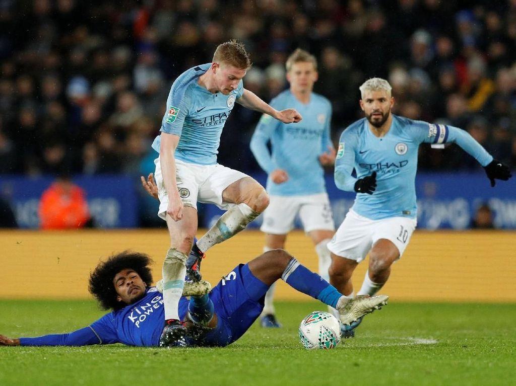 City yang Terluka Bakal Lebih Menyulitkan Leicester