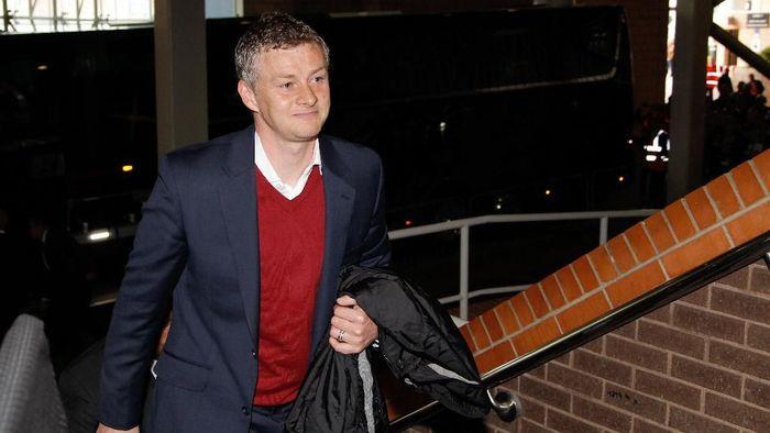 Ole Gunnar Solskjaer bakal menjadi manajer sementara Manchester United hingga akhir musim. (Foto: Richard Sellers/Getty Images)