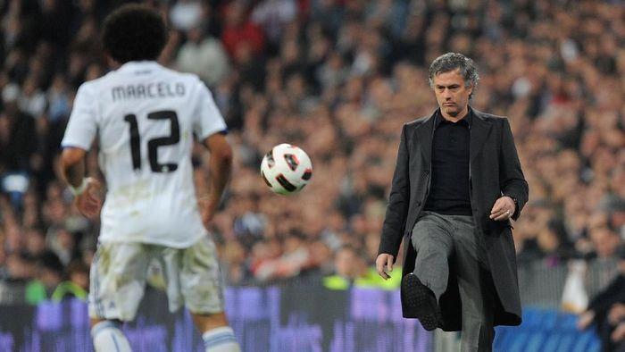 Mourinho saat melatih Real Madrid (Denis Doyle/Getty Images)
