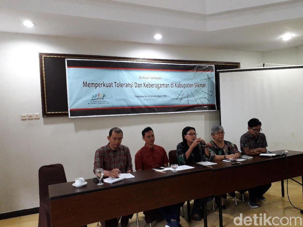 Aliansi NGO Desak Pemerintah Serius Sikapi Intoleransi di Yogya