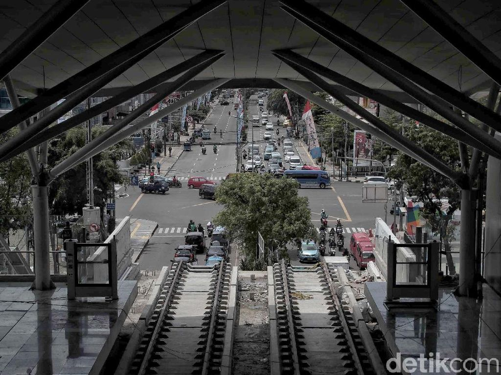 Penumpang LRT Jakarta bakal Nyambung Transjakarta