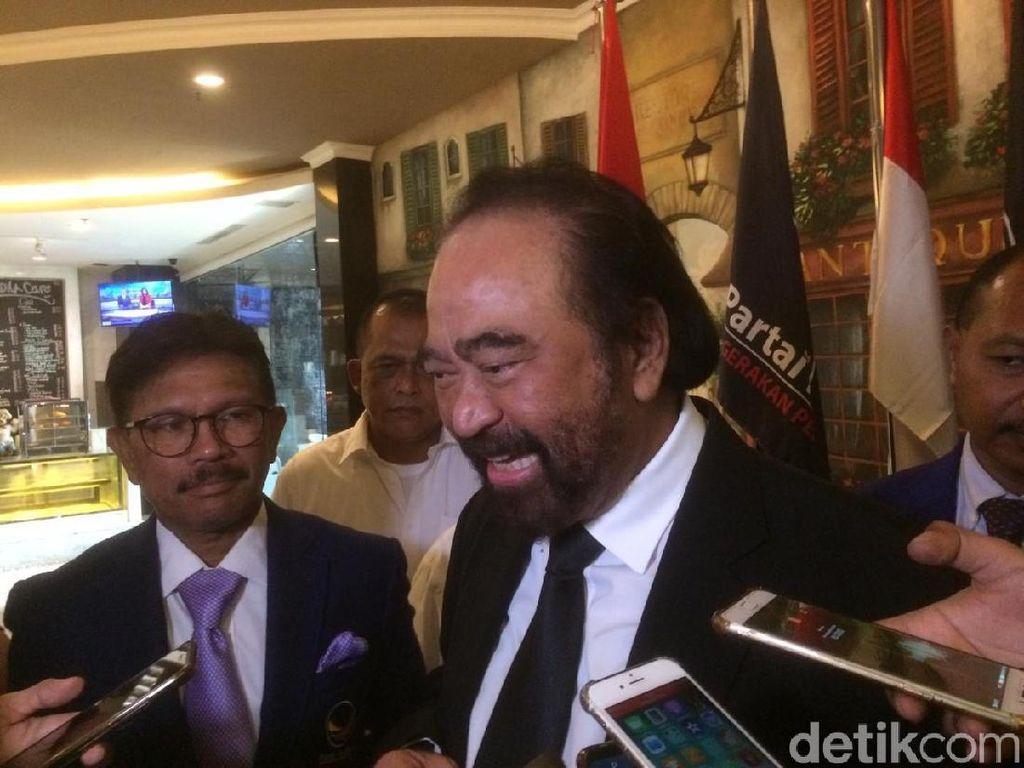 Surya Paloh ke Jokowi: Kalau Wakil NasDem Sontoloyo, Jangan Kasih Apa-apa!