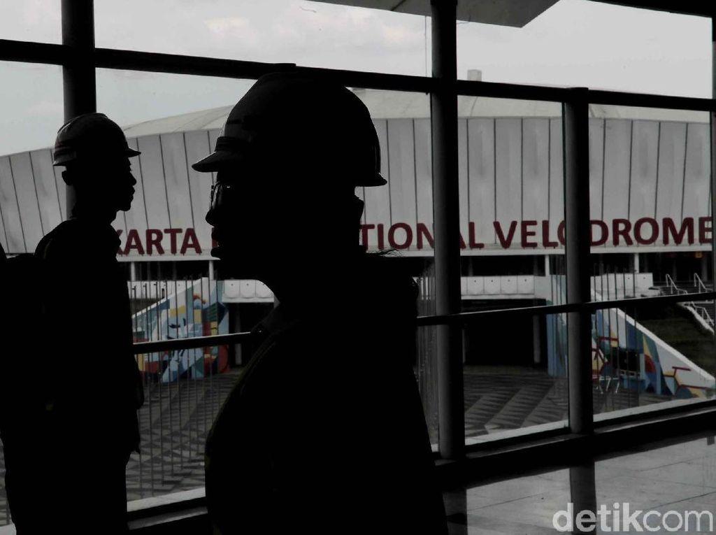 Mengintip Stasiun LRT Jakarta di Kawasan Velodrome, Keren Lho