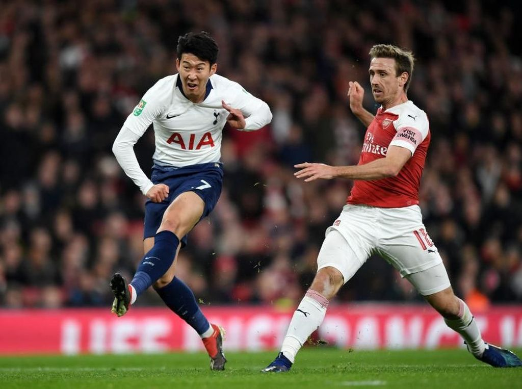 Tottenham Melunasi Dendam atas Arsenal di Emirates