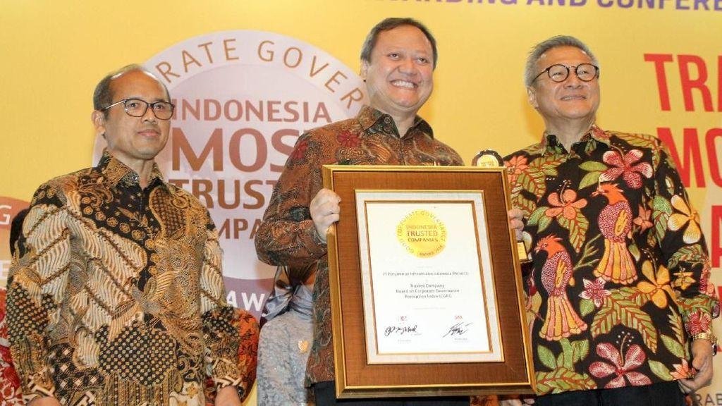 Penghargaan untuk Perusahaan Terpercaya