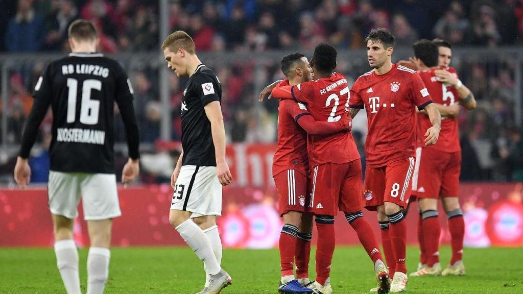 Susah Payah Bayern Demi Jaga Jarak dengan Dortmund