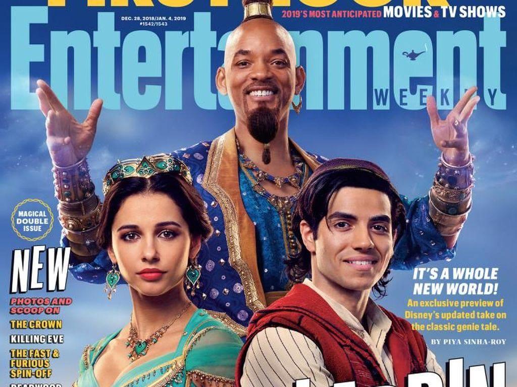 Dadanya Ditutupi Kemeja, Gaya Aladdin di Film Terbaru Diprotes Netizen