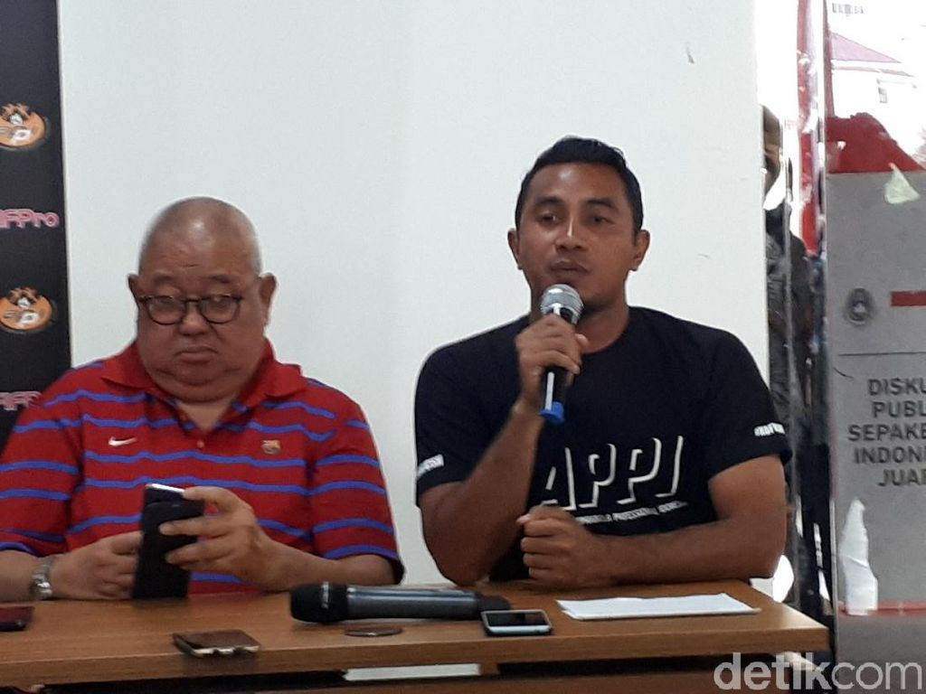 APPI Siap Bantu Kepolisian Berantas Match Fixing