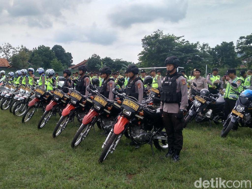 Tim Antiteror Kawal Gereja di Kabupaten Cirebon