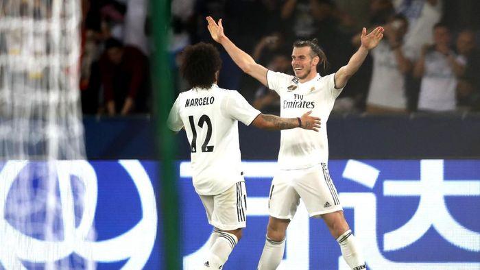 Gareth Bale mendapat pujian dari Santiago Solari. (Foto: Francois Nel/Getty Images)