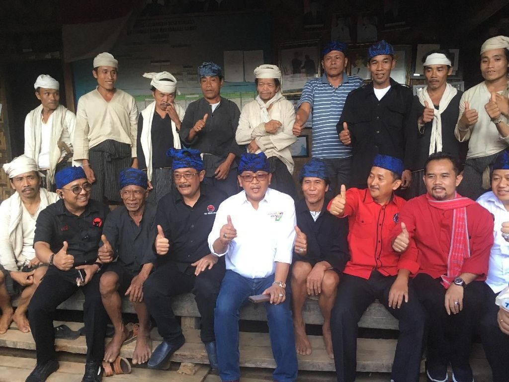 Hasto ke Warga Baduy: Jokowi Beri Perlindungan ke Tanah Ulayat