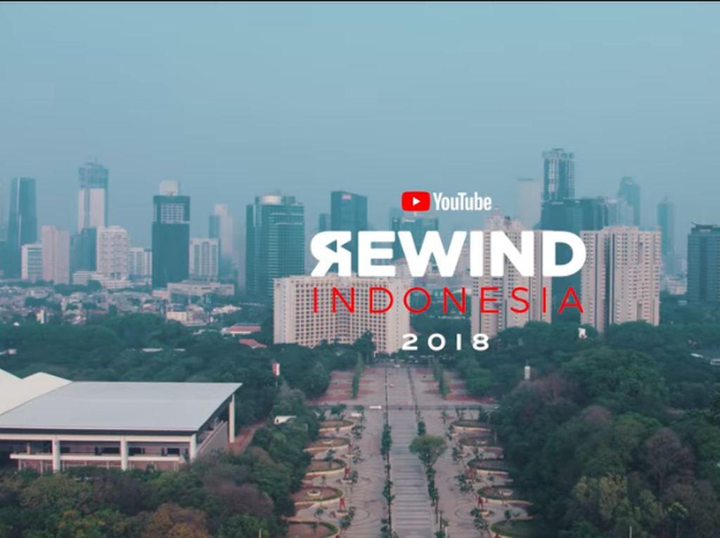 Banyak Dikritik, YouTube Rewind Indonesia 2018 Jadi Kontroversi